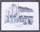 Vintage Menu From The Crab Cooker, Newport Beach, CA