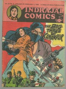 Indrajal Comics Big Three of Kanakpur No. 22 Vo. 4 1985
