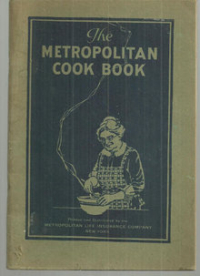 Metropolitan Life Insurance Metropolitan Cook Book 1924