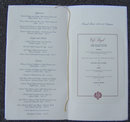 Vintage Menu From Cafe Royal, Dallas, Texas
