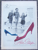 1959 Air Step Americana Women's Shoes Life Magazine Ad