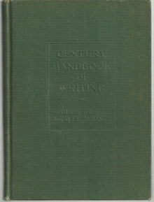 Century Handbook of Writing by Garland Greever 1924
