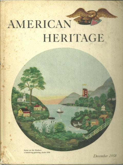 American Heritage Magazine December 1958 Hudson River