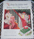 1956 Seven-Up Magazine Christmas Advertisement
