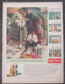 1956 Early Times Life Magazine Christmas Advertisement