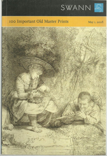 100 Important Old Master Prints, Sale 2144, May 1, 2008