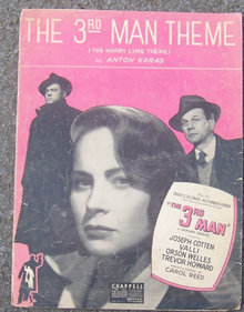 3rd Man Theme The Harry Lime Theme 1949 Sheet Music
