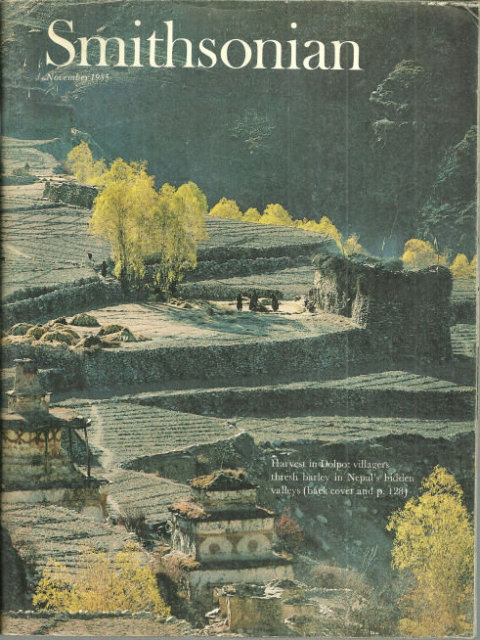 Smithsonian Magazine November 1985 Life of Buddhism