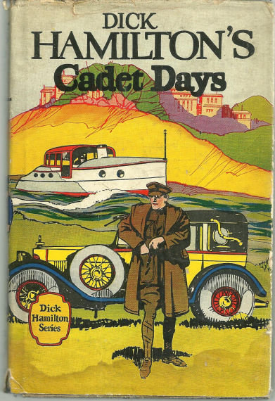 Dick Hamilton's Cadet Days by Howard Garis 1910 with DJ