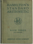 Hamilton's Standard Arithmetic Book Three with Answers
