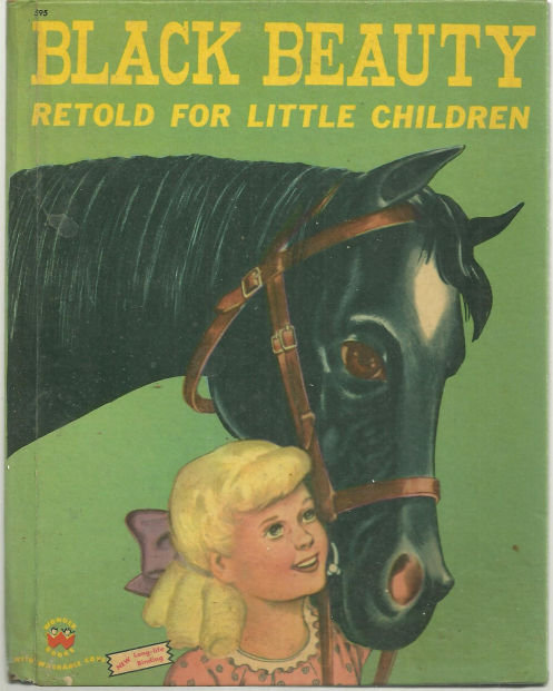 Black Beauty Retold For Little Children 1952 Wonder Bk