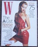 W Magazine February 2006 Reese Witherspoon on Cover
