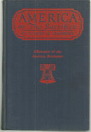 America or The Sacrifice by Robert Chambers 1919 Novel