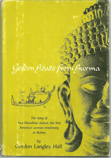 Golden Boats from Burma by Gordon Langley Hall 1961 DJ