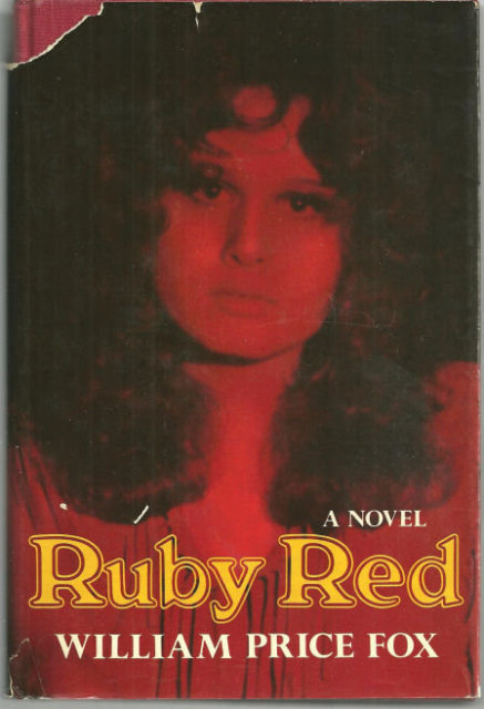 Ruby Red by William Price Fox 1971 1st edition with DJ