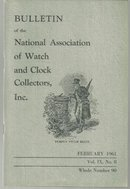 Bulletin of the National Watch and Clock Coll February 1961