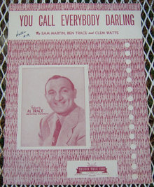 You Call Everybody Darling Featured by Al Trace 1946