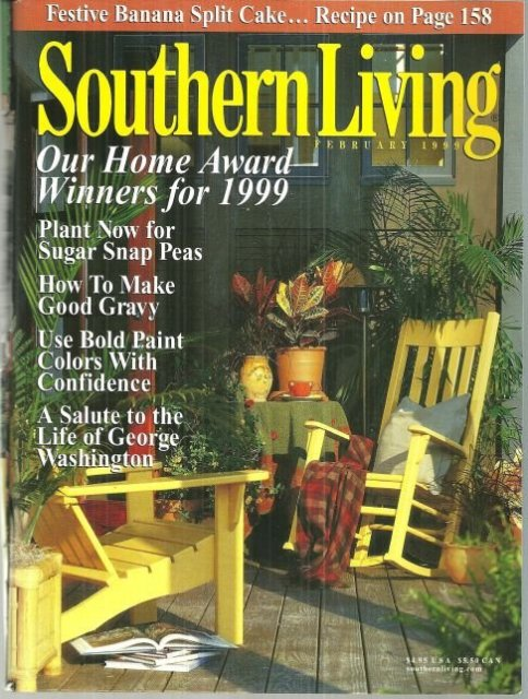 Southern Living Magazine February 1999 Country Living
