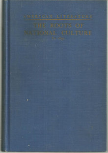 Roots of National Culture American Literature to 1830