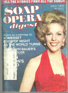 Soap Opera Digest July 1976 Eileen Fulton on Cover