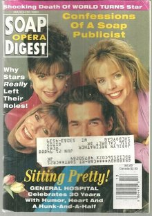 Soap Opera Digest March 30, 1993 General Hospital 30th