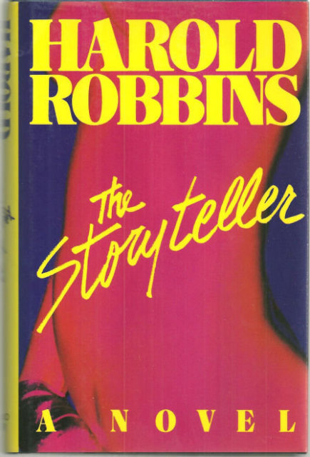 Storyteller by Harold Robbins 1985 1st edition with DJ