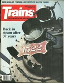 Trains Magazine March 1989 Reprieve for Steam