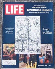 Life Magazine March 24, 1967 Easter in Jerusalem Cover
