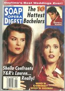 Soap Opera Digest March 3, 1993 Sheila and Lauren Cover