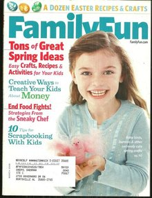 Family Fun Magazine March 2008 Easter and Spring Fun