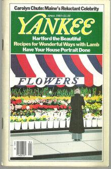 Yankee Magazine April 1985 Hartford, Connecticut
