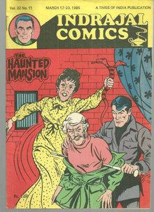 Indrajal Comics Haunted Mansion No. 22 Vol. 11 1985