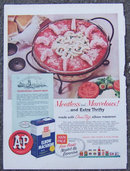 1959 A& P Charleston Shrimp Bake Life Magazine Ad