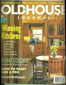 Old House Journal March/April 1999 Glorious Kitchens