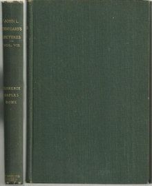 Stoddard Lectures Florence, Naples, Rome Vol 8 1903