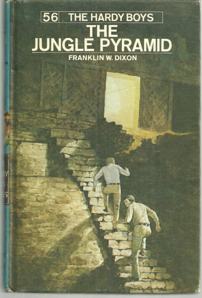 Jungle Pyramid Hardy Boys #56 Matte Blue Cover 1977