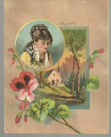 Helena Moujeska Victorian Trade Card Ball's Corsets