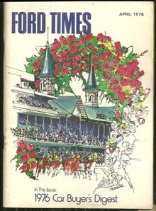 Ford Times Magazine April 1976 Louisville, Kentucky
