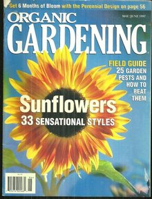 Organic Gardening Magazine May/June 1997 Sunflowers
