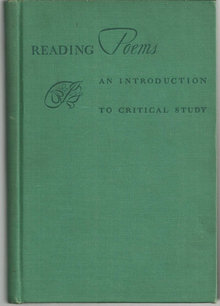 Reading Poems by Thomas Wright 1941 Critical Studies