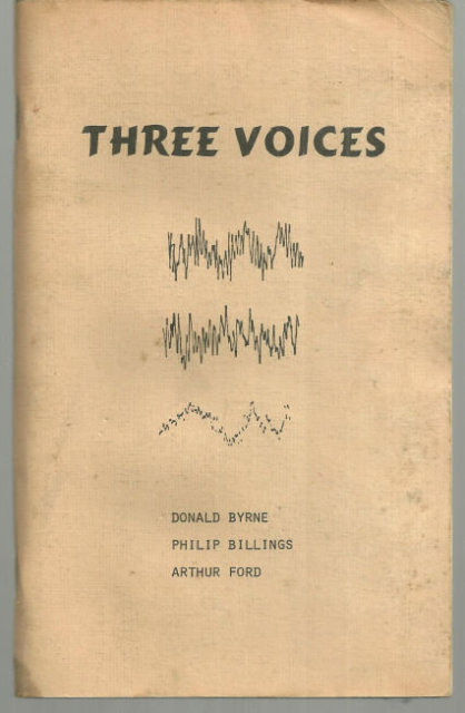 Three Voices Lebanon County Workshop Poetry 1976