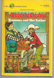 Ramona And Her Father by Beverly Cleary 1979 Illus