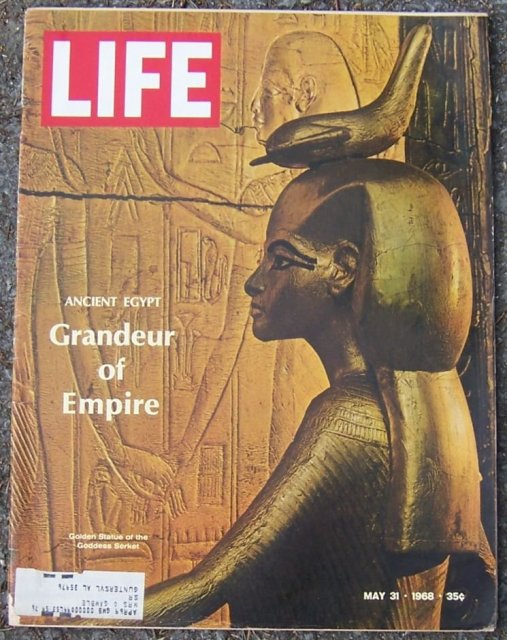Life Magazine May 30, 1968 Ancient Egypt on Cover
