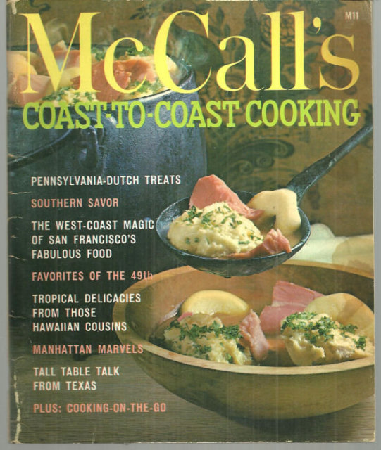 McCall's Coast to Coast Cookbook 1965 Illus Kay Smith