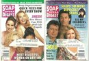 Lot of Two Soap Opera Digests June 1993 Days on Cover