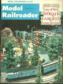 Model Railroader Magazine June 1976 Great Northern