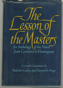 Lesson of the Masters an Anthology of the Novel 1971