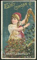 Victorian Trade Card for Estey Organ Co., Vermont