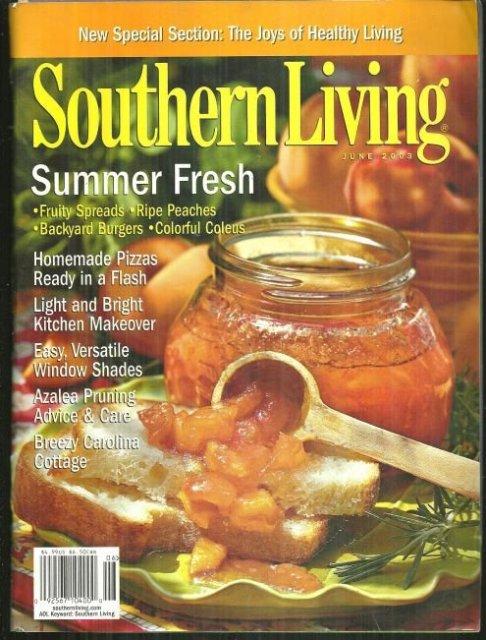 Southern Living Magazine June 2003 Summer Fresh
