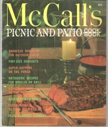 McCall's Picnic and Patio Cookbook 1965 Tye Gibson Illustrations